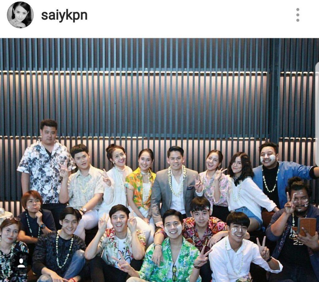 """เลิกไม่เลิก!  """"กานต์-ซาย KPN"""" ควงทำบุญปีใหม่ไทย ถ่ายรูปร่วมเฟรมเดียวกันแล้ว"""