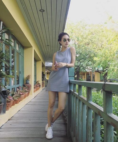 """งดงามเลอค่า """"แพนเค้ก"""" ในชุดไทย """"ศรีอโยธา"""" สวยดั่งกับนางในวรรณคดี"""