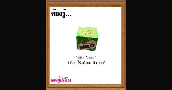 """11 เรื่อง ต้องรู้เกี่ยวกับ """"MILO CUBE"""" ไอเท็มสุดฮิต!!"""