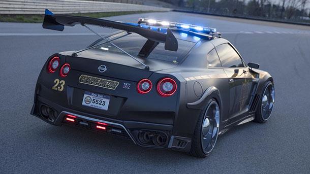 """อย่าคิดหนี!!! Nissan เผยโฉม """"ค็อปซิลล่า"""" GT-R เวอร์ชั่นรถตำรวจ สำหรับตามไล่ล่าคนร้าย!!!"""