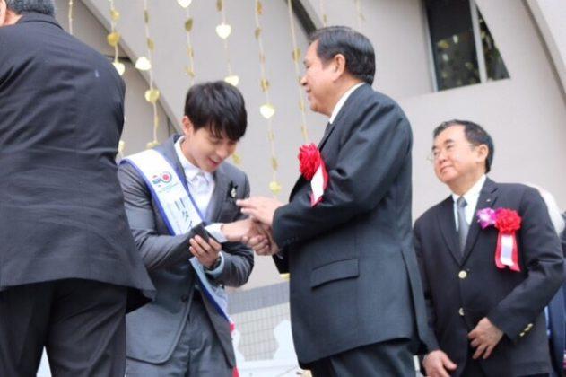 """""""เจมส์ จิรายุ"""" เผยความรู้สึกได้เป็นทูตสันถวไมตรี 130 ปี ความสัมพันธ์ทางการทูตไทย-ญี่ปุ่น !!!"""