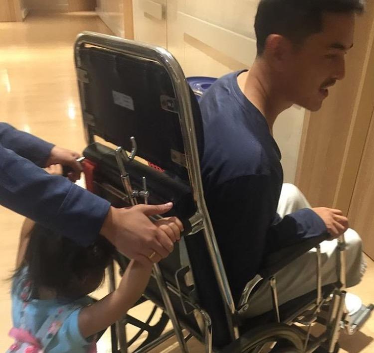 """""""สงกานต์"""" เผยอุบัติเหตุแผลที่ขา ต้องแอดมินนอนโรงพยาบาล เพราะ?!!"""