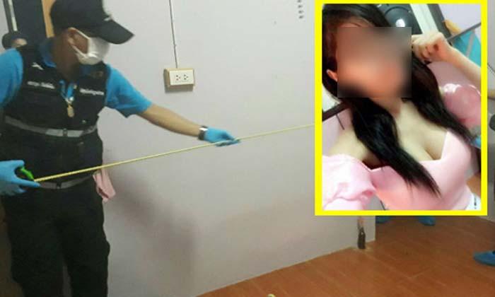 """ตำรวจประจวบฯ บุกบ้านผู้ต้องสงสัย """"จิ๊บ ป่าถล่ม"""" ฆ่าน้องฝ้าย เครียดจัดดื่มยาพิษฆ่าตัวตาย!!"""