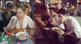 พีคมั้ยล่ะ ! ส่องภาพ ดาราคนดัง กับลุคติดดิน กินข้าวร้านข้างทาง