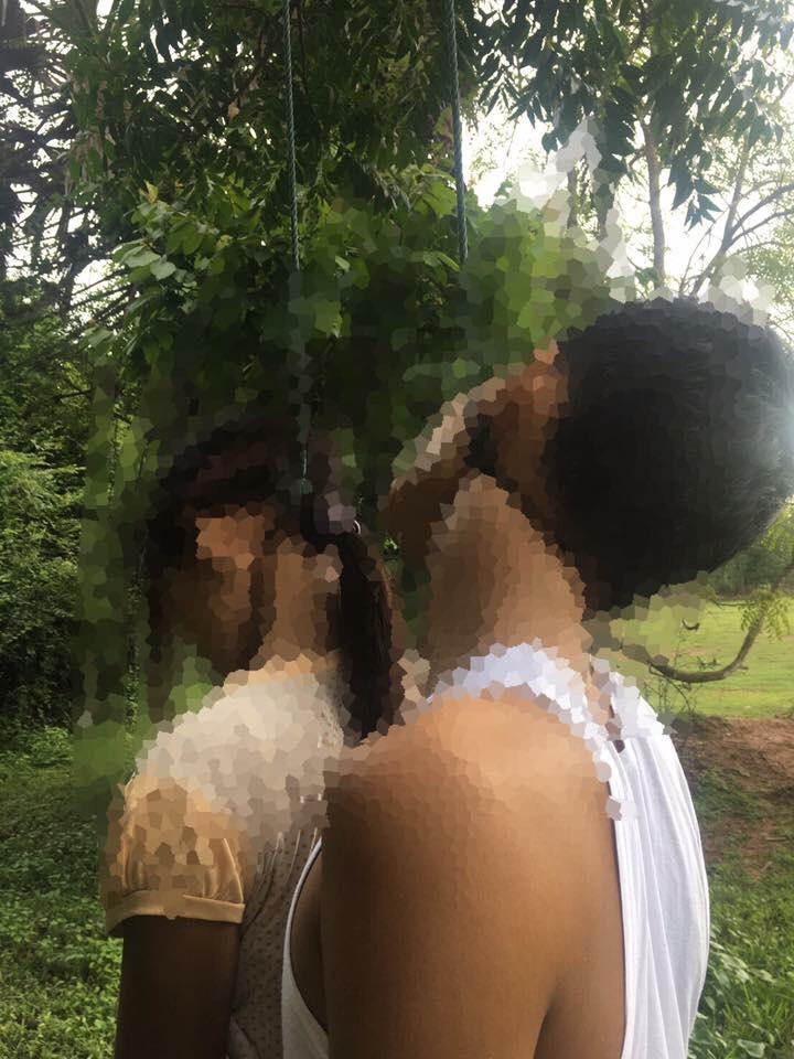 แทบช็อก!!! พบศพหนุ่ม-สาวคู่รัก ผูกคอห้อยโต่งเต่งคู่กันใต้ต้นไม้