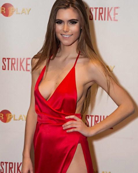 จัดว่าเด็ดเลยที่เดียว ! Amberleigh West นางแบบสาวฮอตจาก Playboy เซ็กซี่ได้ใจจริงจัง 18+