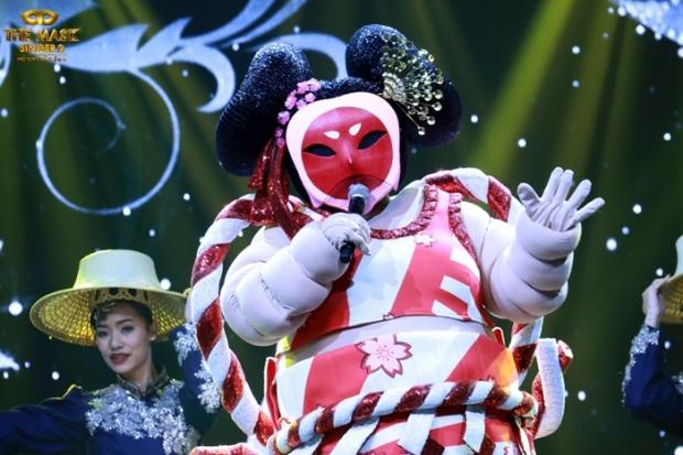 """เผยความในใจ """"ลิเดีย"""" (หน้ากากซูโม่) หลังเป็นแชมป์ The mask singer2"""