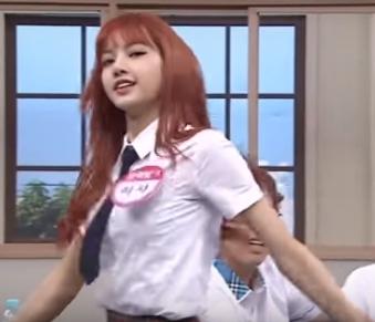 """ไปไกลถึงเกาหลี! """"ลิซ่า แบล็คพิ้งค์""""  โชว์แดนซ์ในรายการดังเกาหลี ท่าโบกแท็กซี่-ท่าดึงดาว (ชมคลิป)"""