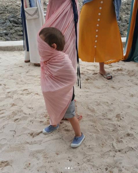 เมื่อ น้องลูก้า ลูกชาย พอลล่า เขินกล้องจัด เลยทำกับแม่แบบนี้