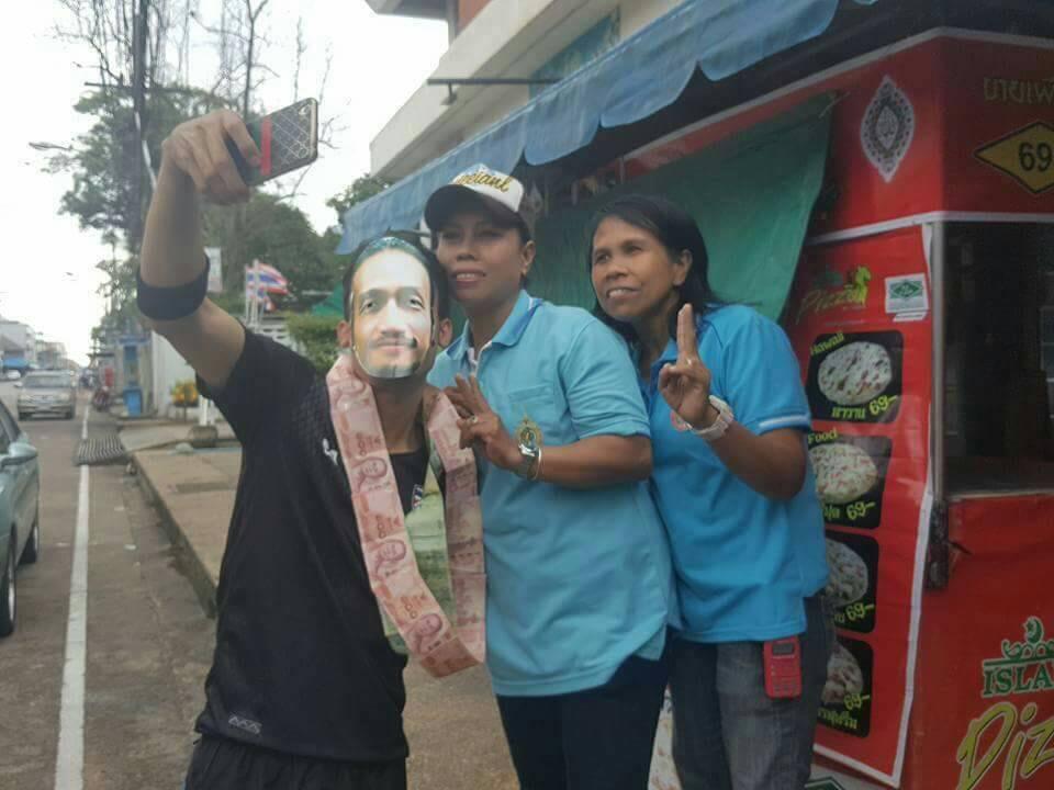 น่าชื่นชม ชาวสุไหงโกลก ใส่หน้ากาก พี่ตูน ร่วมสมทบเงินบริจาคให้โครงการ #ก้าวคนละก้าว