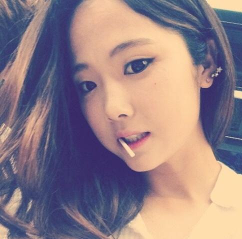 แข้งสาวทีมชาติเกาหลีใต้สุดน่ารัก ลี มินา ผมนี่ซารังเฮโยเลย!