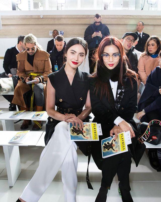 """ส่องแฟชั่นสวยอินเตอร์ ของ """"ใหม่ ดาวิกา"""" ใน New York Fashion Week"""