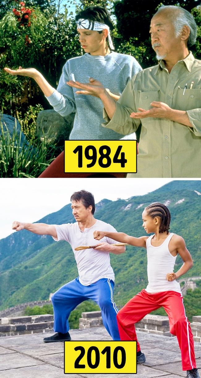 ความแตกตางระหวางภาพยนตรตนฉบบ ปะทะ ภาพยนตรรเมค
