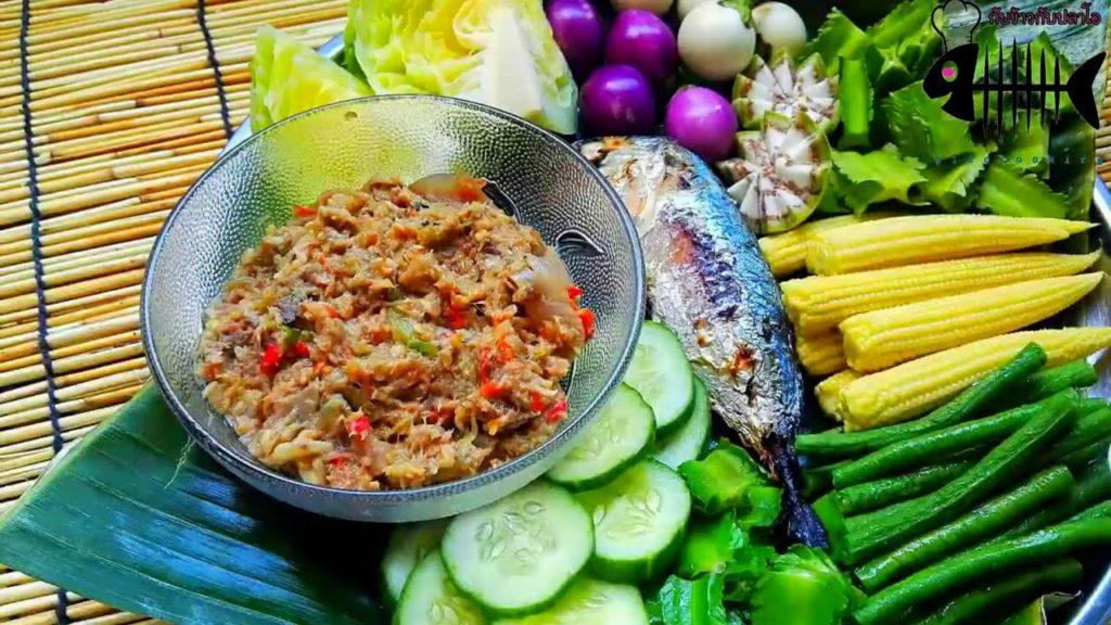 สูตรการทำน้ำพริกปลาทูแบบชาววัง