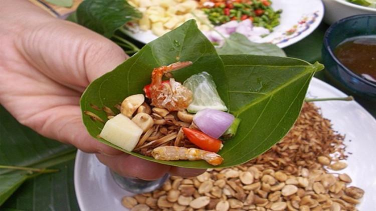 เมี่ยงคำ เมนูอาหารไทยช่วยบำรุงธาตุ ป้องกันโรคและอายุยืน