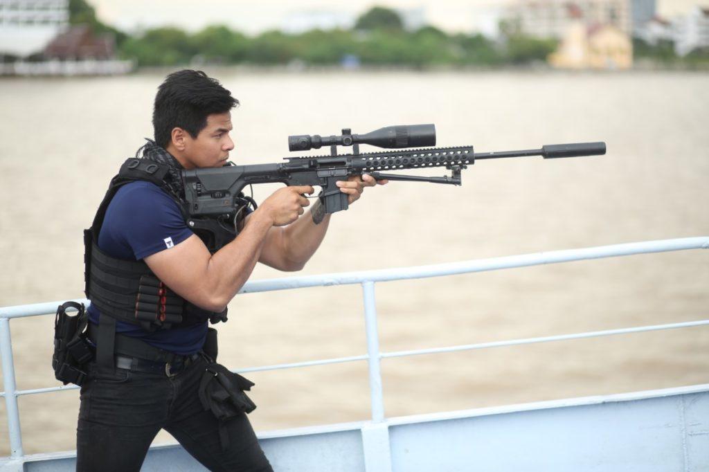 ฝีมือไม่ธรรมดา เซน-นพฤทธิ์ จากทหารรับใช้ชาติ!!!  สู่นักแสดงบู๊แอ๊คชั่นเจ้าเสน่ห์