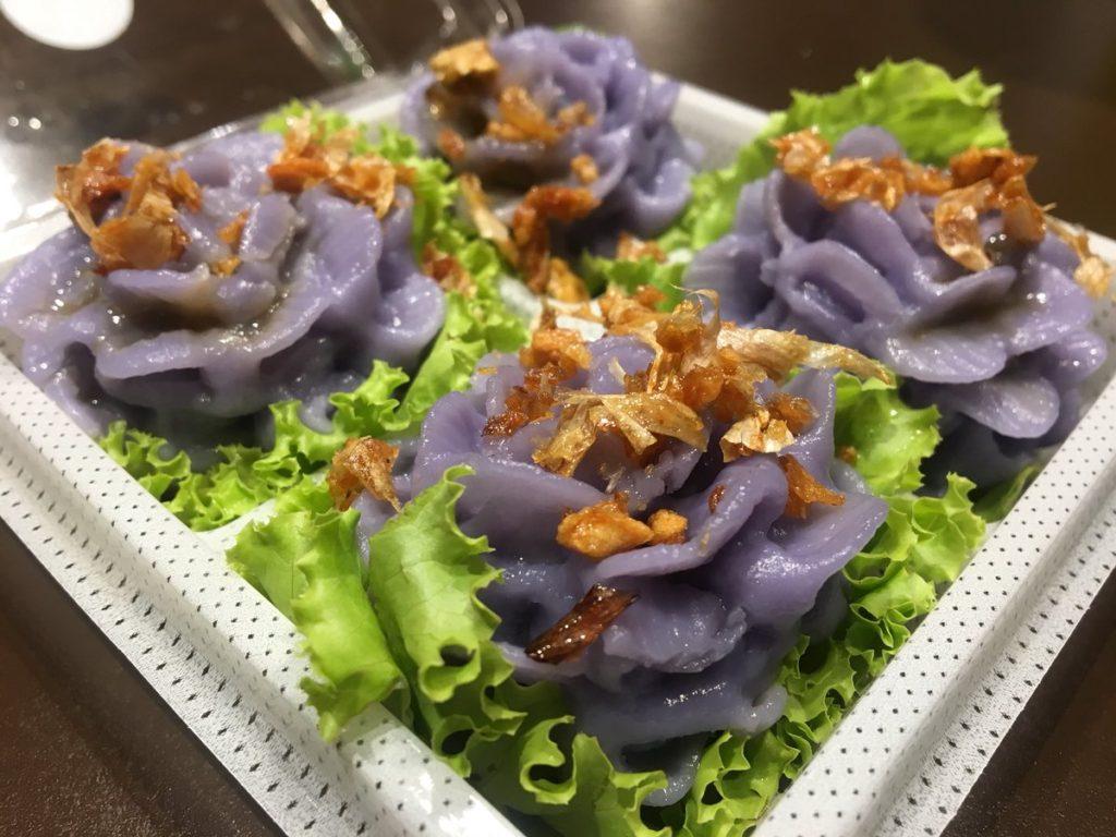 สูตรลับจากชาววัง ขนมช่อม่วงขนมไทยสมัยโบราณ