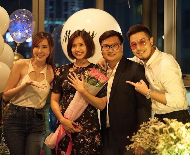 แพร-เชน หวานยิ่งกว่า งานเพื่อนขอแต่งงาน