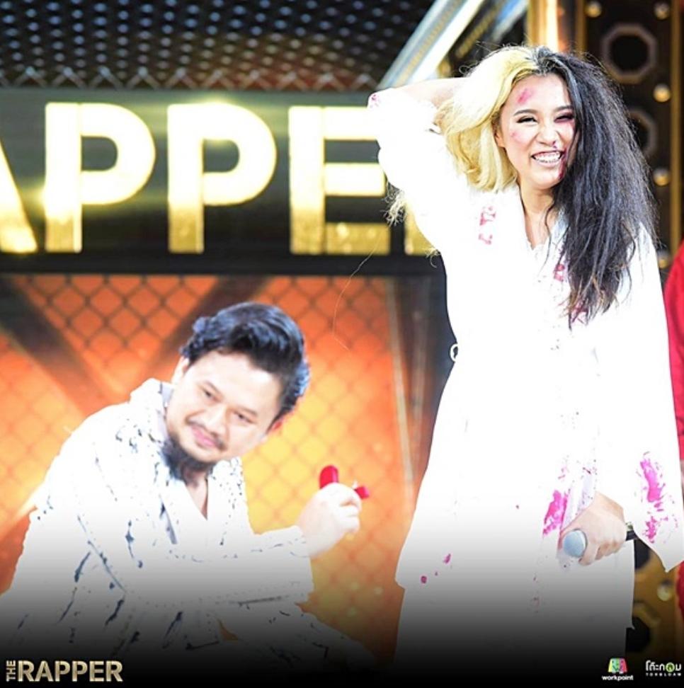 เปิดคลิป! วินาที หมวดแวน ทำเซอร์ไพรส์ขอ ปุ๊บปั๊บ กชกร แต่งงานกลางรายการ The Rapper