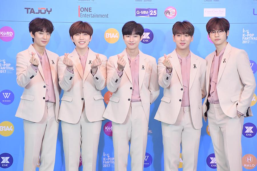 ประมวลภาพ K-POP idol วง B1A4 (42 รูป)