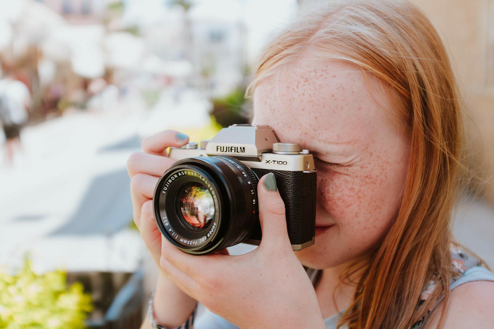 กล้อง mirrorless Fuji X-T100 กล้องเซลฟี่ได้ ในแคมเปญ Find Your Wonder-Side