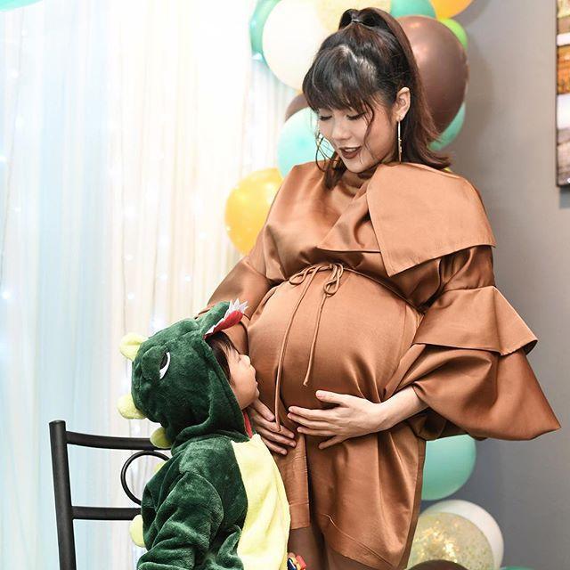 จีน่า ภรรยา โอ๊ต วรวุฒิ จัดงานปาร์ตี้ Baby Shower ก่อนคลอด น้องโอเลิฟ