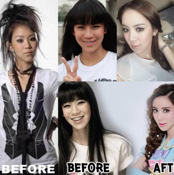 มาดูพัฒนาการความสวยของสาว  ขนมจีน กุลมาศ