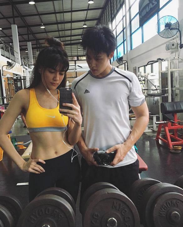 กระชับรัก!! รวมคู่รักดารา ชวนกันฟิตหุ่นออกกำลังกาย