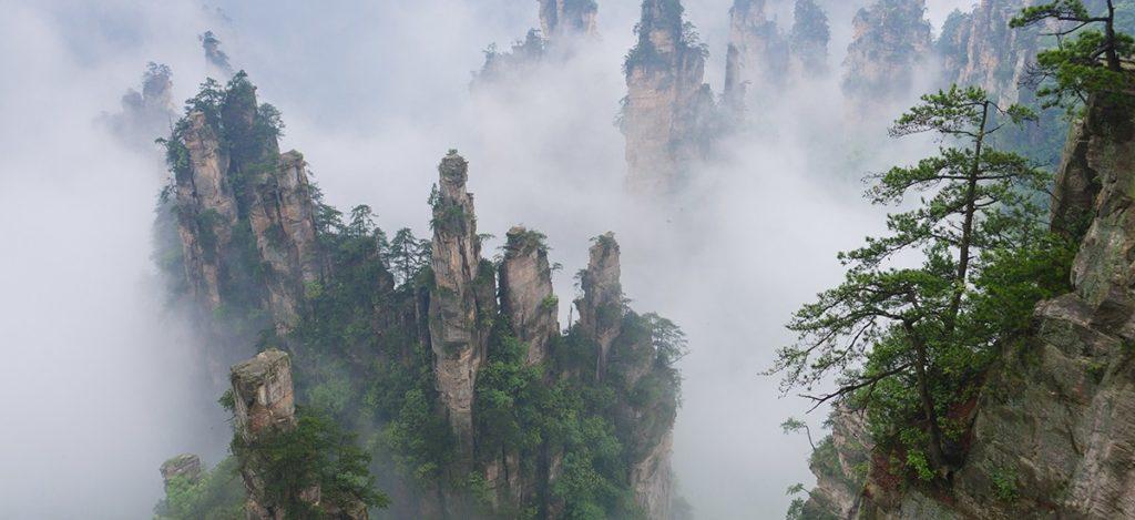 อุทยานจางเจียเจี้ย ประเทศจีน