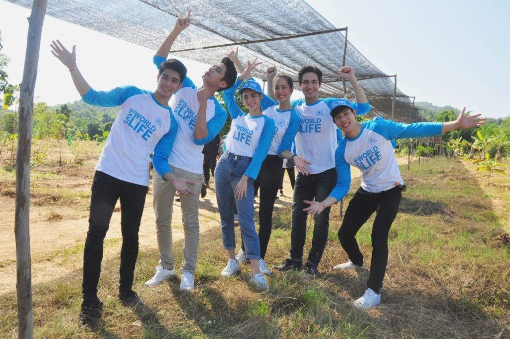 7 สี ปันรักให้โลก แท็กทีมแฟน ๆ จิตอาสา รวมพลังพลิกฟื้นผืนป่า 60 ไร่