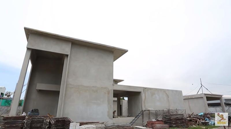 """""""โอ๊ต ปราโมทย์"""" สร้างบ้านใหม่อยู่รวมกับพี่-น้อง 4 คน สิ้นปีเข้าอยู่ได้"""