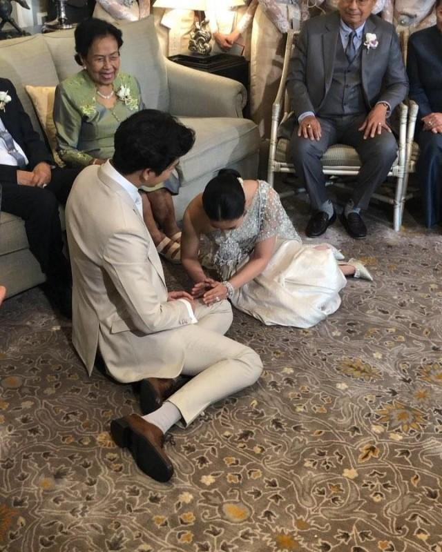 เปิดภาพของขวัญ ที่เสี่ยตาปัญญา มอบให้ จุ๋ย พุฒ ในวันแต่งงาน