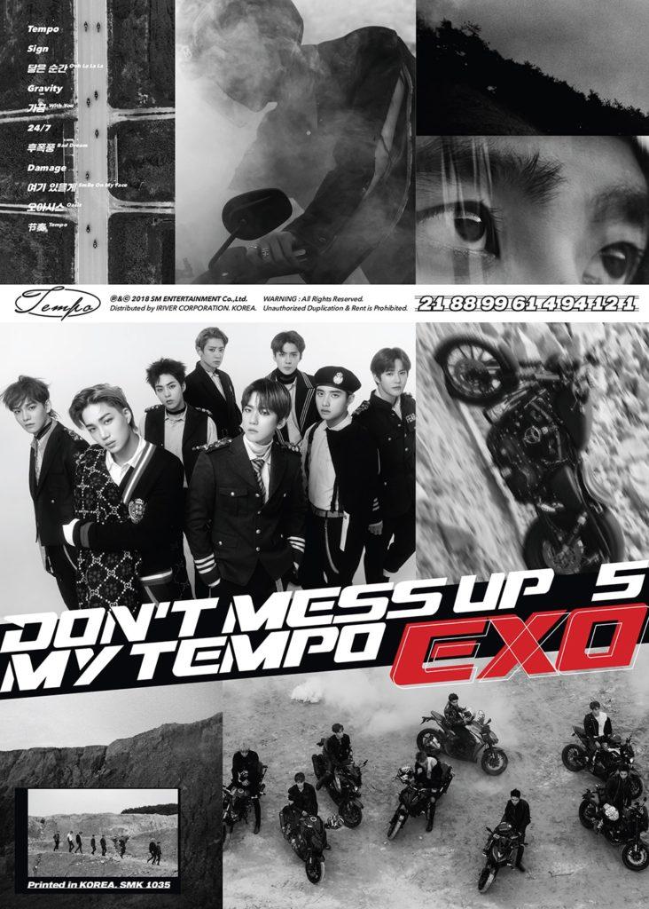ราชาแห่งเค-ป๊อป 'EXO' กลับมาพร้อมจังหวะร้อนแรงแซงทุกขีดจำกัด ในอัลบั้มเต็มชุดที่ 5 'DON'T MESS UP MY TEMPO' พร้อมยอดจองทะลุ 1.1 ล้านอัลบั้ม