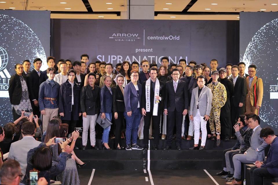"""เฮลั่น!! หนุ่ม """"เควิน อภิสิตนันท์ ลูกครึ่งไอร์แลนด์  คว้ามง Mister Supranational Thailand 2018"""