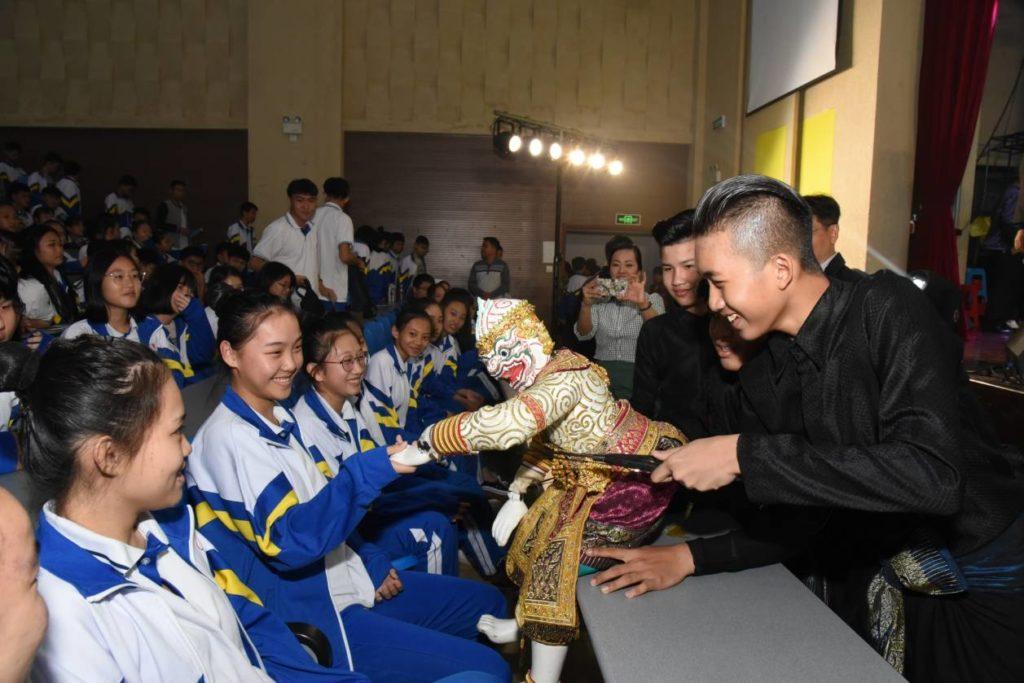 """คณะนักแสดงพื้นบ้านของไทยสร้างความประทับใจในงาน """"สานสัมพันธ์ไทย-จีน"""