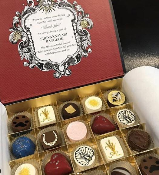 น่าทานมาก เปิดช็อคโกแลต โอปอล์ ที่ พระองค์หญิงฯ ประทานให้เป็นของขวัญปีใหม่