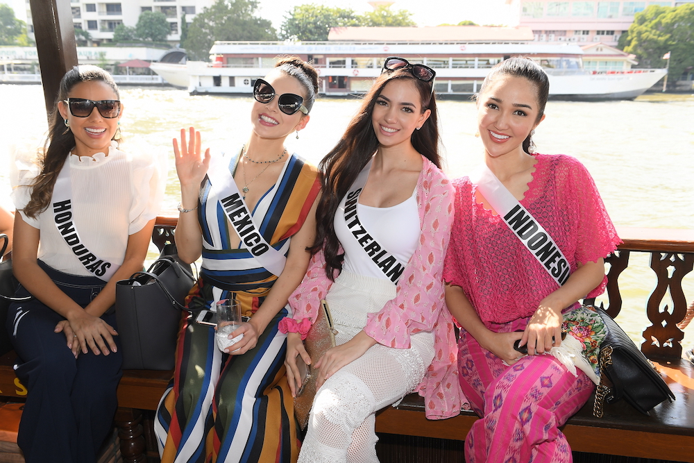 กิจกรรมแรก มิสยูนิเวิร์ส 2018 โชว์ความเป็นไทย!!