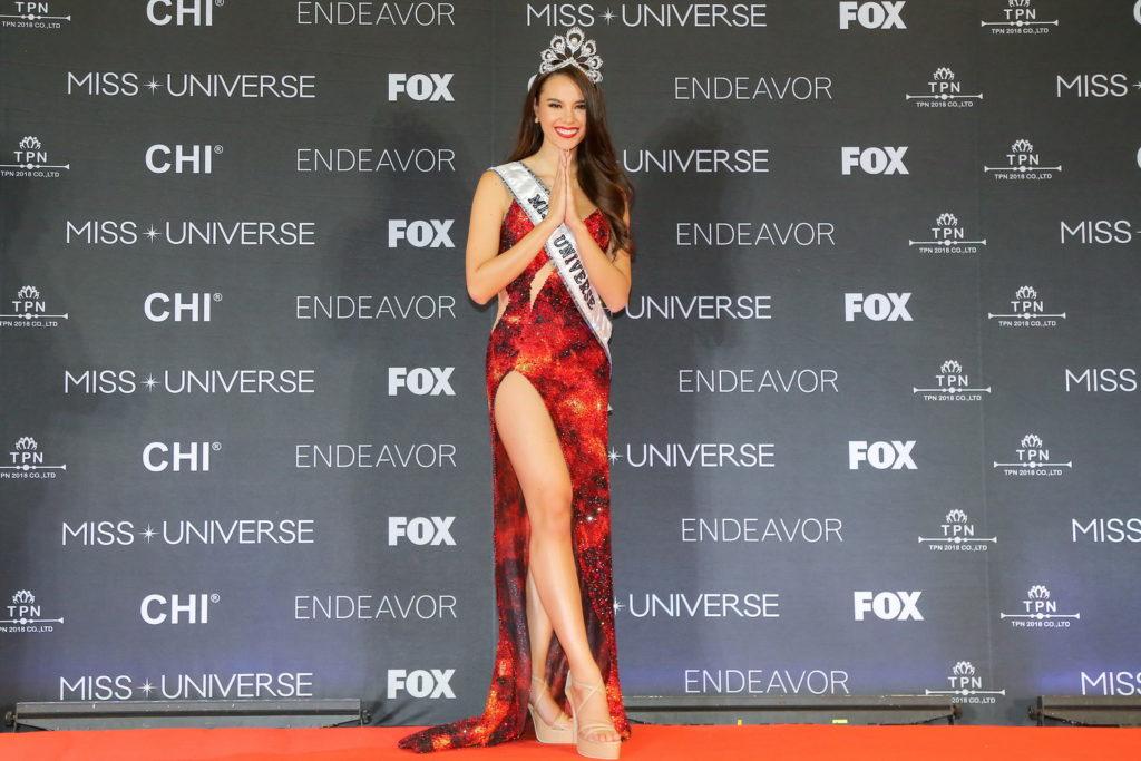 """ควันหลง """"แคทรีโอนา เกรย์""""  Miss Universe 2018 (ภาพเยอะมาก)"""