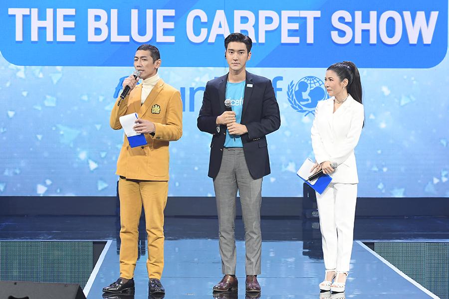 รวมภาพศิลปิน ดาราในงาน The Blue Carpet Show for UNICEF (48 รูป)