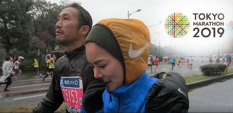 ก้อย รัชวิน ถึงกับหลั่งน้ำตาโผเข้ากอด พี่ตูน หลังจบวิ่งโตเกียวมาราธอน (ชมคลิป)