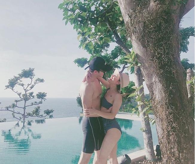 กุ๊บกิ๊บ ควง บี้ ฉลองแต่งงาน 3 ปี ควงเที่ยวทะเลแบบไม่มี เป่าเปา!!