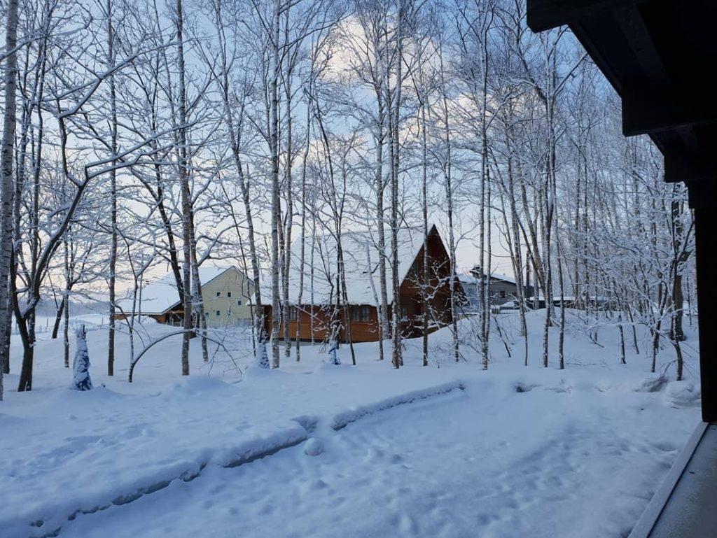 สุดแฮปปี้ เคน-หน่อย บินพักผ่อนบ้านที่ญี่ปุ่น กดไลค์วิวสวยเหมือนกับภาพถ่ายเลยทีเดียว