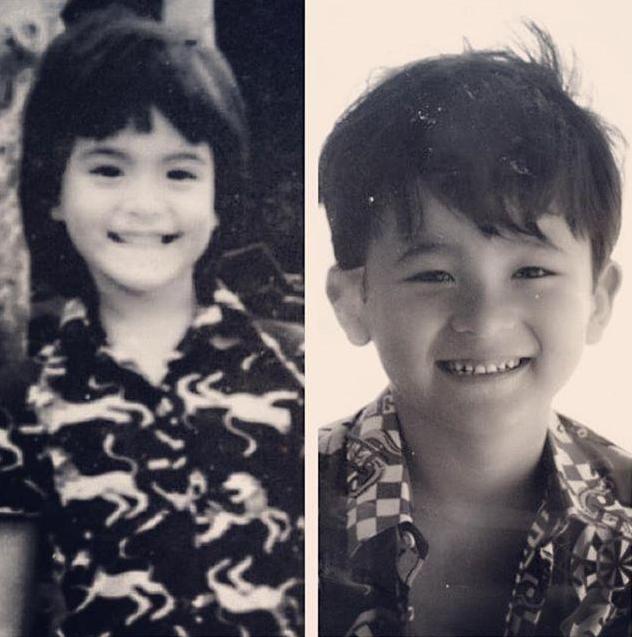 มาช่า พักเบรกดราม่า ลงภาพถ่ายแบบคู่ น้องกาย แม่ลูกยิ้มสำเนาเดียวกันเป๊ะ