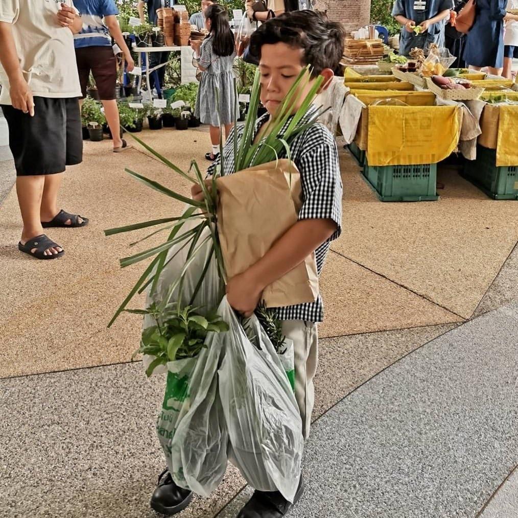"""""""ป๋อ"""" เล่าเรื่อง เมื่อ """"น้องภู"""" หลงใหลพืชผักสมุนไพรไทย พ่อขอสนับสนุนเต็มที่"""