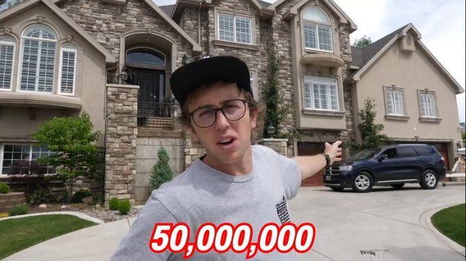 """เปิดบ้านคุณพ่อ """"ยูทูบเบอร์ชื่อดัง"""" หรูหรา ราคา 50 ล้าน"""