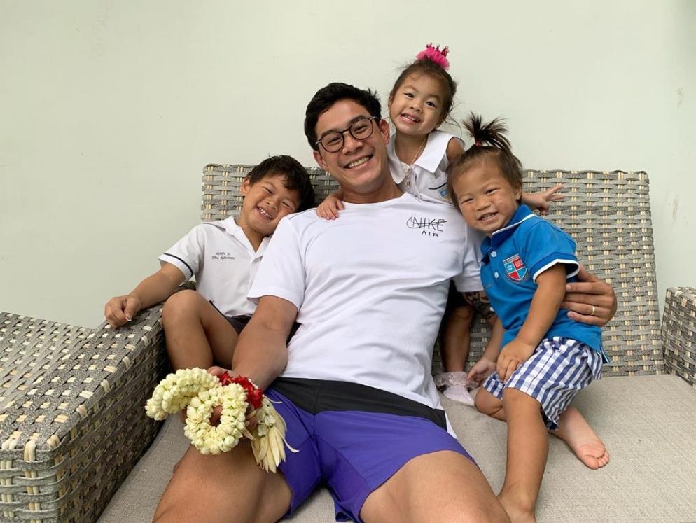 ฮารุ โพสต์คลิป บรรดาลูกๆกอดให้กำลังใจ พ่อกาย