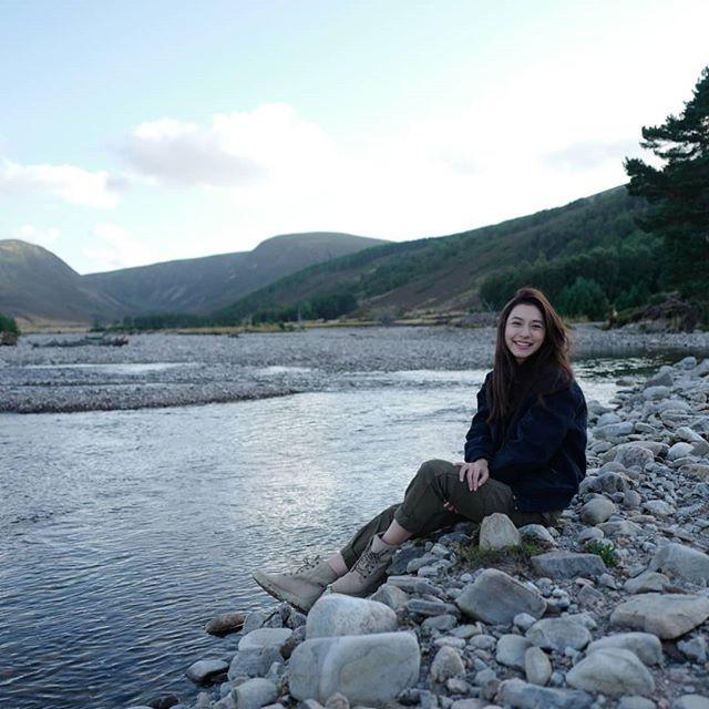 มิว นิษฐา ควง ไฮโซเซนต์ เที่ยวสกอตแลนด์ หวานจัด!! ซ้อมฮันนีมูน