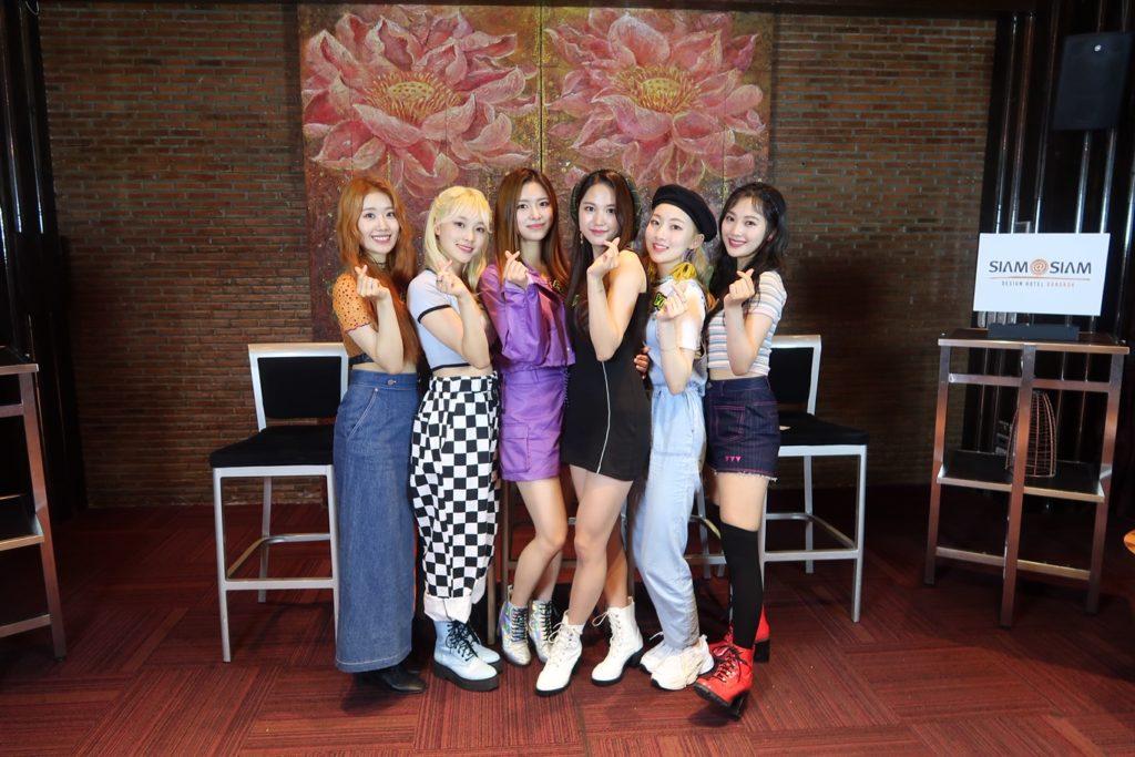 DREAMNOTE สุดประทับใจ เยือนไทยครั้งแรกแฟนคลับต้อนรับอบอุ่น