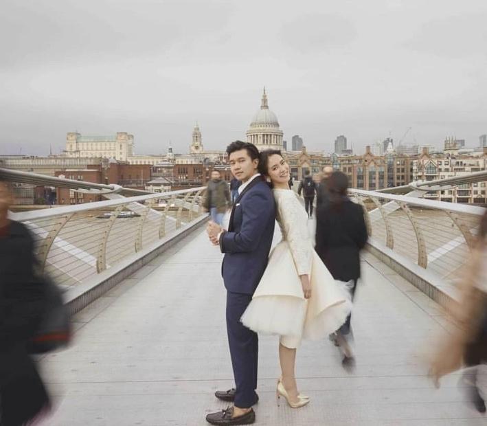 """เปิดภาพงานแต่งงานของ""""โดนัท มนัสนันท์ -ตาม จำนงค์อาษา""""ที่คบหาดูใจกันนานถึง 4 ปี"""