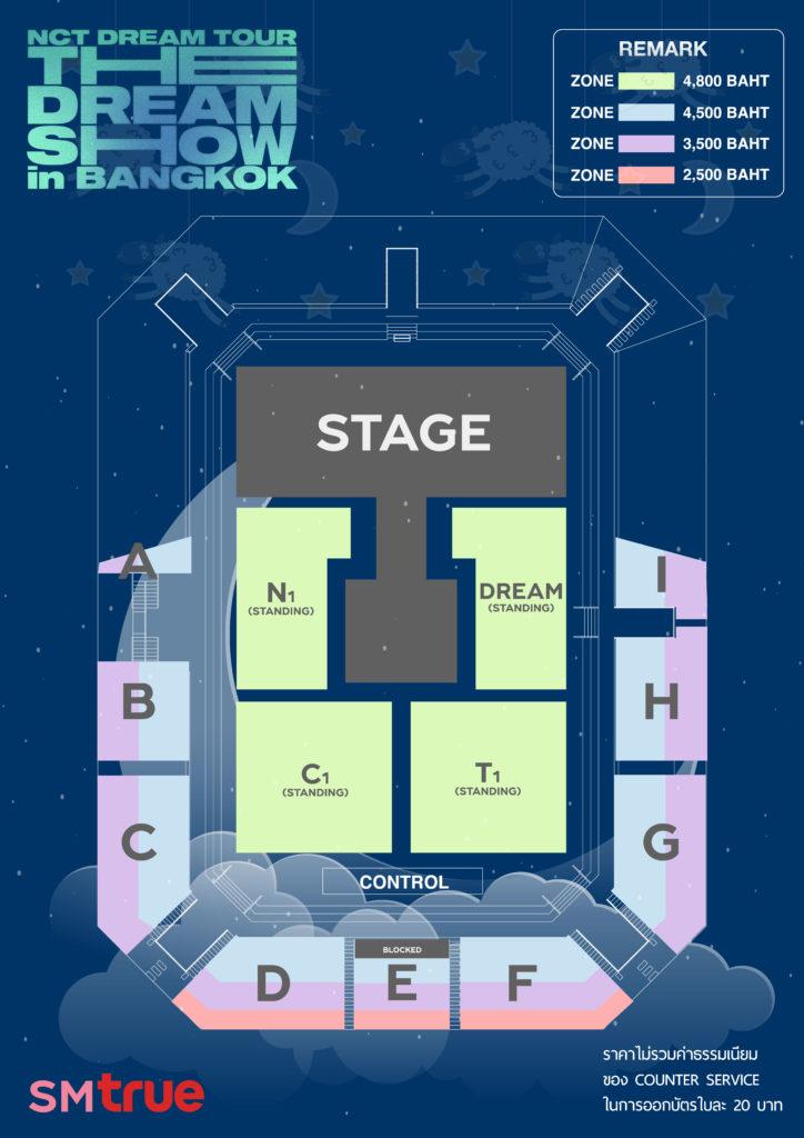 SM True เตรียมเนรมิตความฝันแสนหวาน ด้วยคอนเสิร์ตของ 'NCT DREAM' ครั้งแรกในประเทศไทย  1, 2 ธันวาคมนี้!